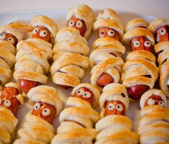 Hotdogs in Kamerjas