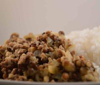 Linzen Bloemkool Curry