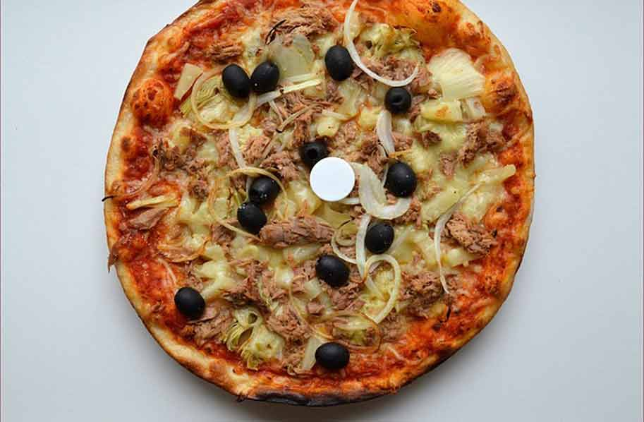 Artisjokpizza