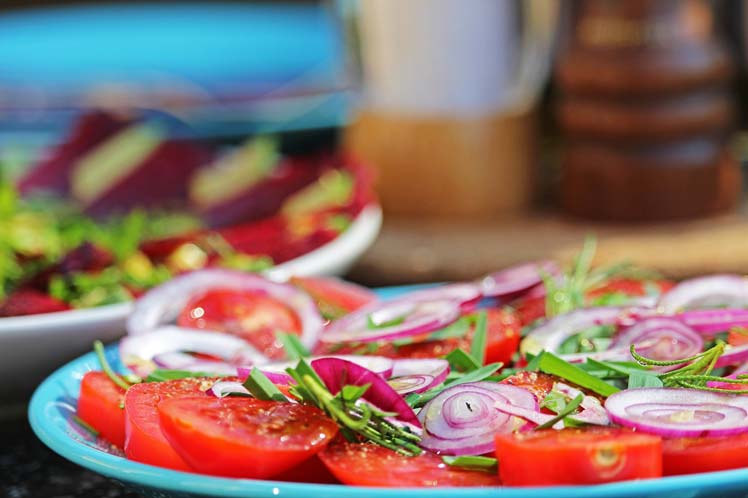 Carpaccio van tomaat