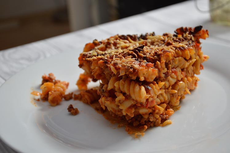 Pastataart Bolognese